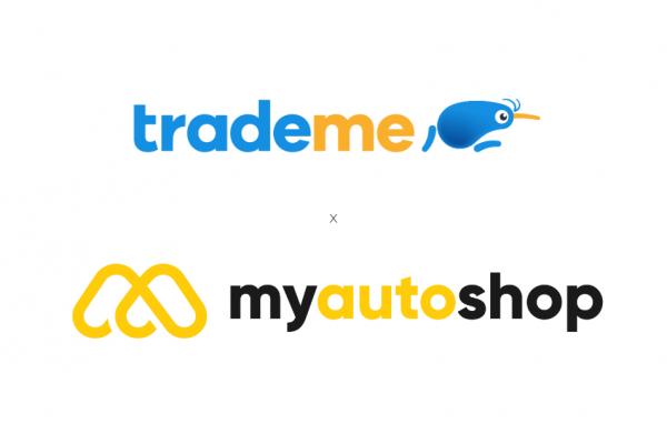 Trade Me and My Auto Shop Logos