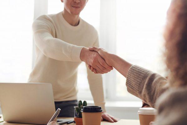 Handshake from negotiation