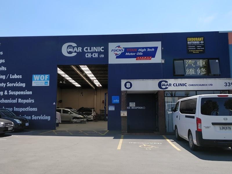 Car Clinic Christchurch